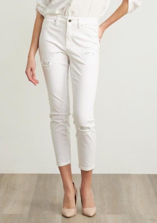 Sequin Detail Denim Jeans